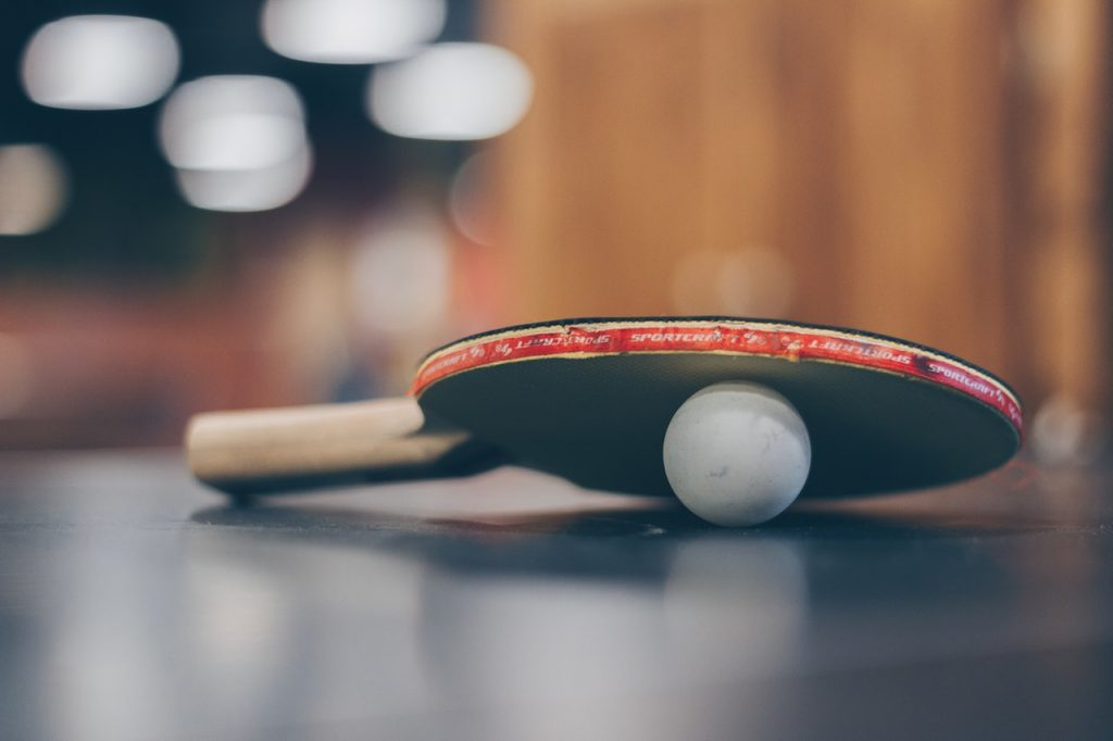 table tennis, paddle, ping pong